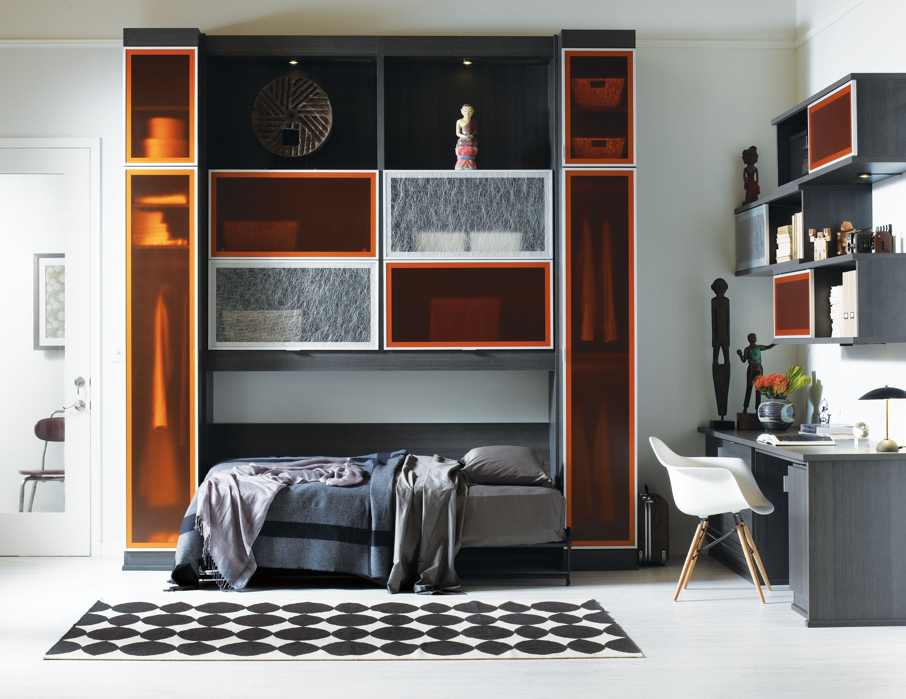 California Closets Murphy Beds With Beautiful Cabinetry, Finishes, And  Shelving, Organize Your Room