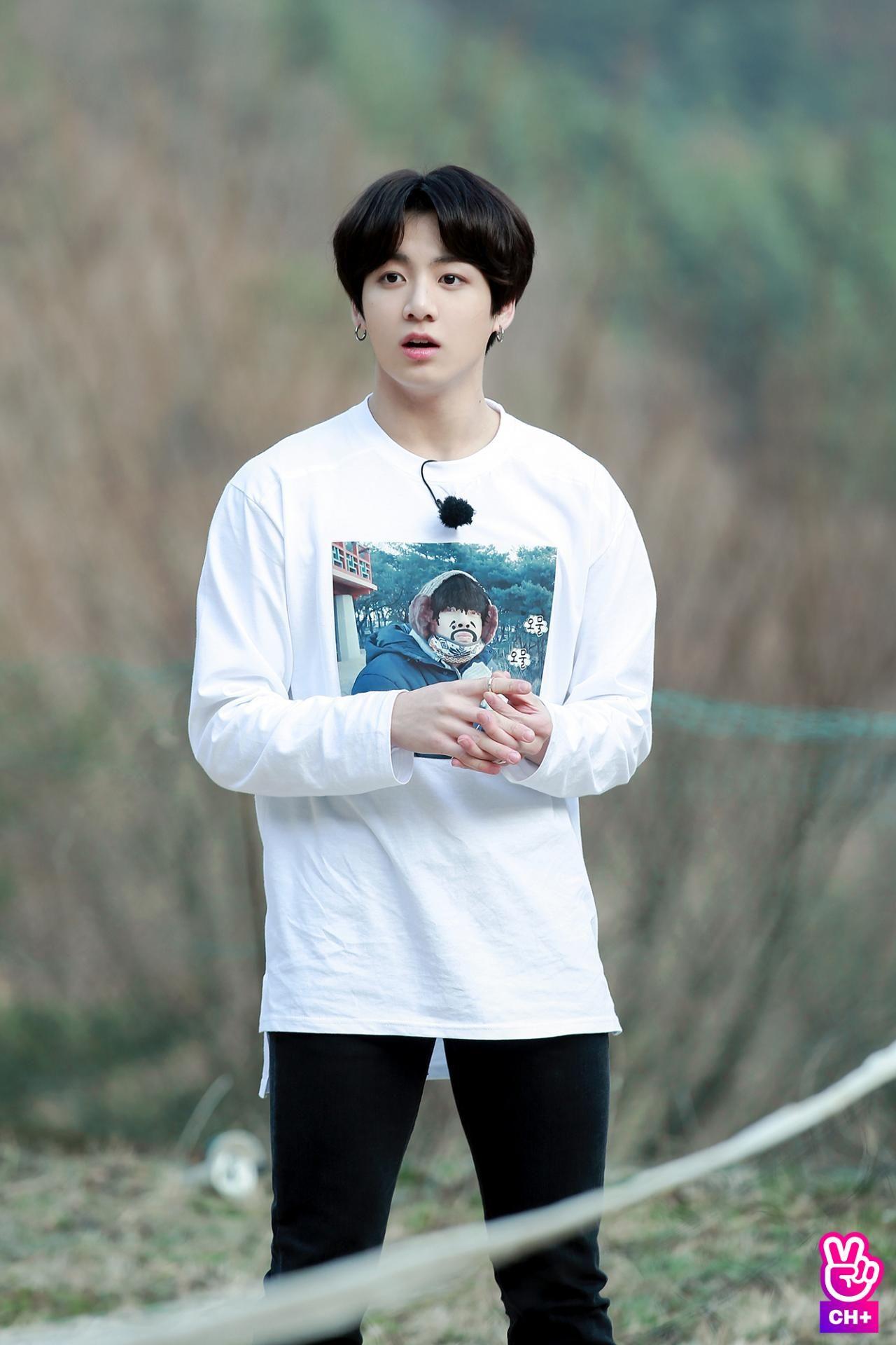 Jungkook V RunEp54 Bangtan Sonyeodan BTS in 2019