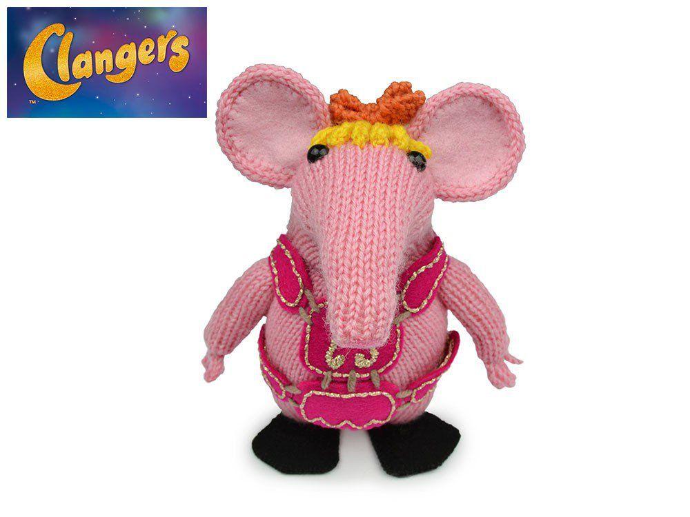 Tiny Clanger in Wendy Merino 4 Ply - Digital Version | Deramores ...