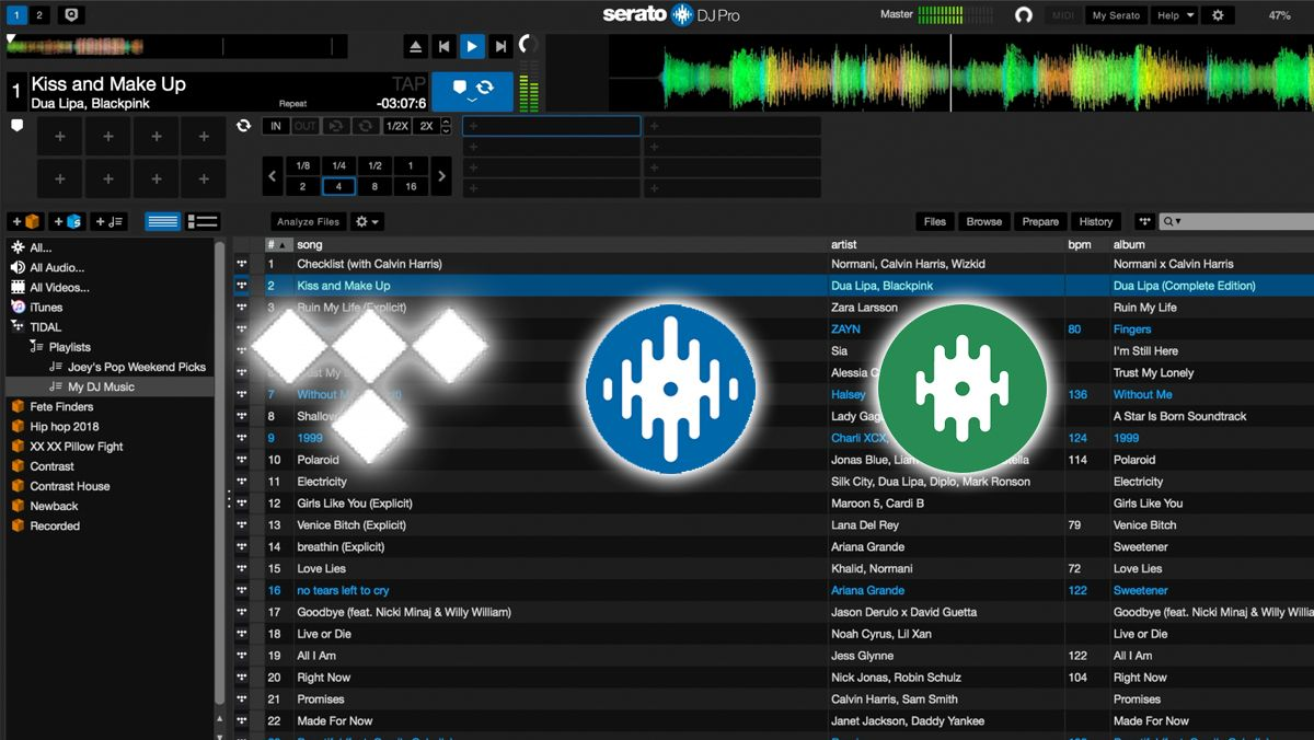 First Look Tidal Music Streaming In Serato Music