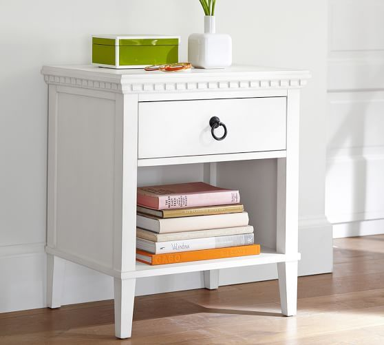 Best Addison Nightstand Living Room Furniture Sale White 400 x 300