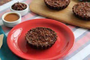 Receita de Tortinhas de Caramelo e Chocolate