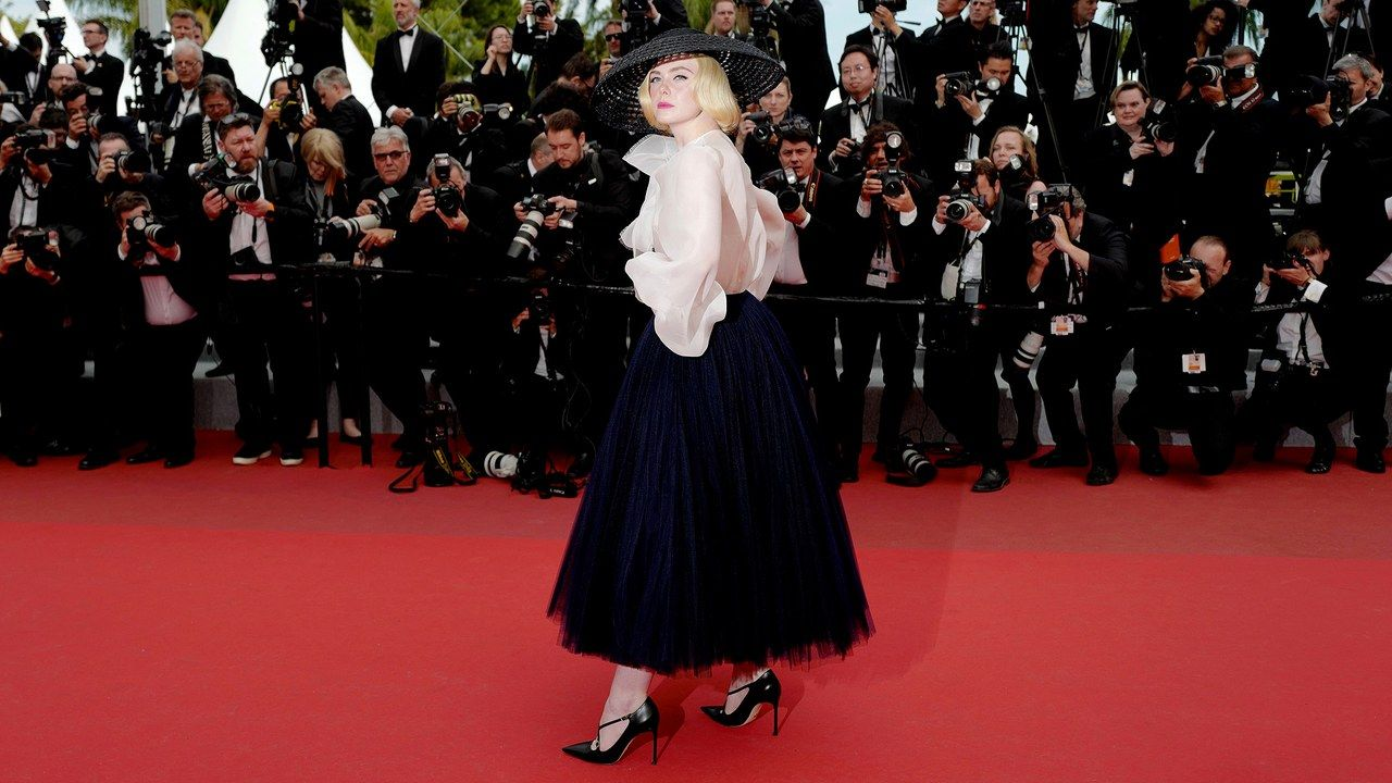 Elle Fanning Delivers a Lesson in French Fashion History