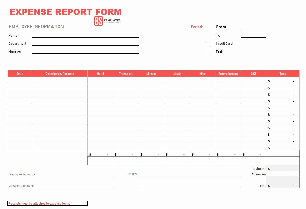 Monthly Expense Report Template Excel Inspirational Expense Report Form Excel Expense Spreadshee Simple Spreadsheet Template Templates Business Template