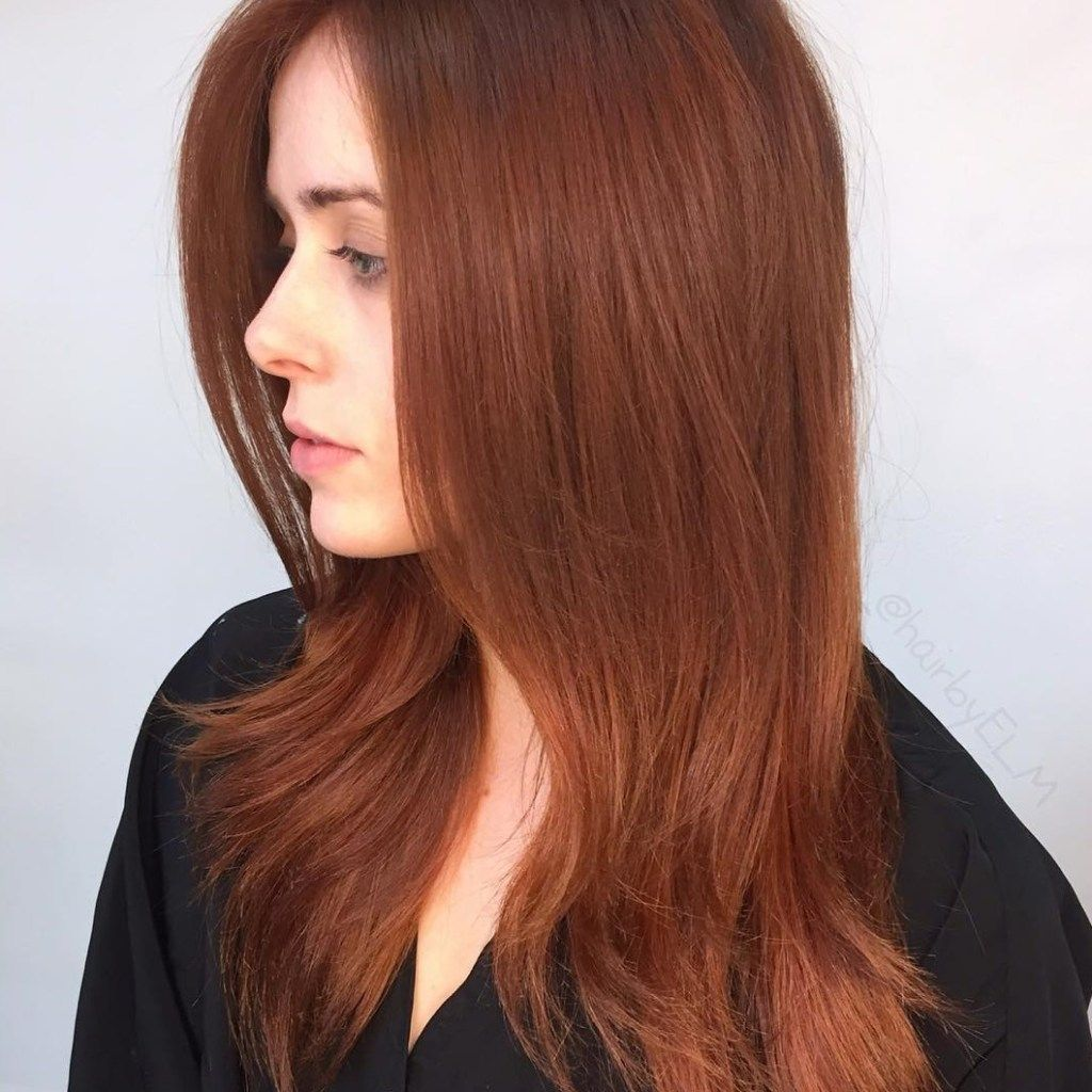 Auburn Hair Colors to Emphasize Your Individuality Copper red