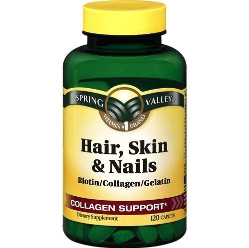 9  Spring Valley Hair, Skin And Nails Multivitamin | Beauty is only