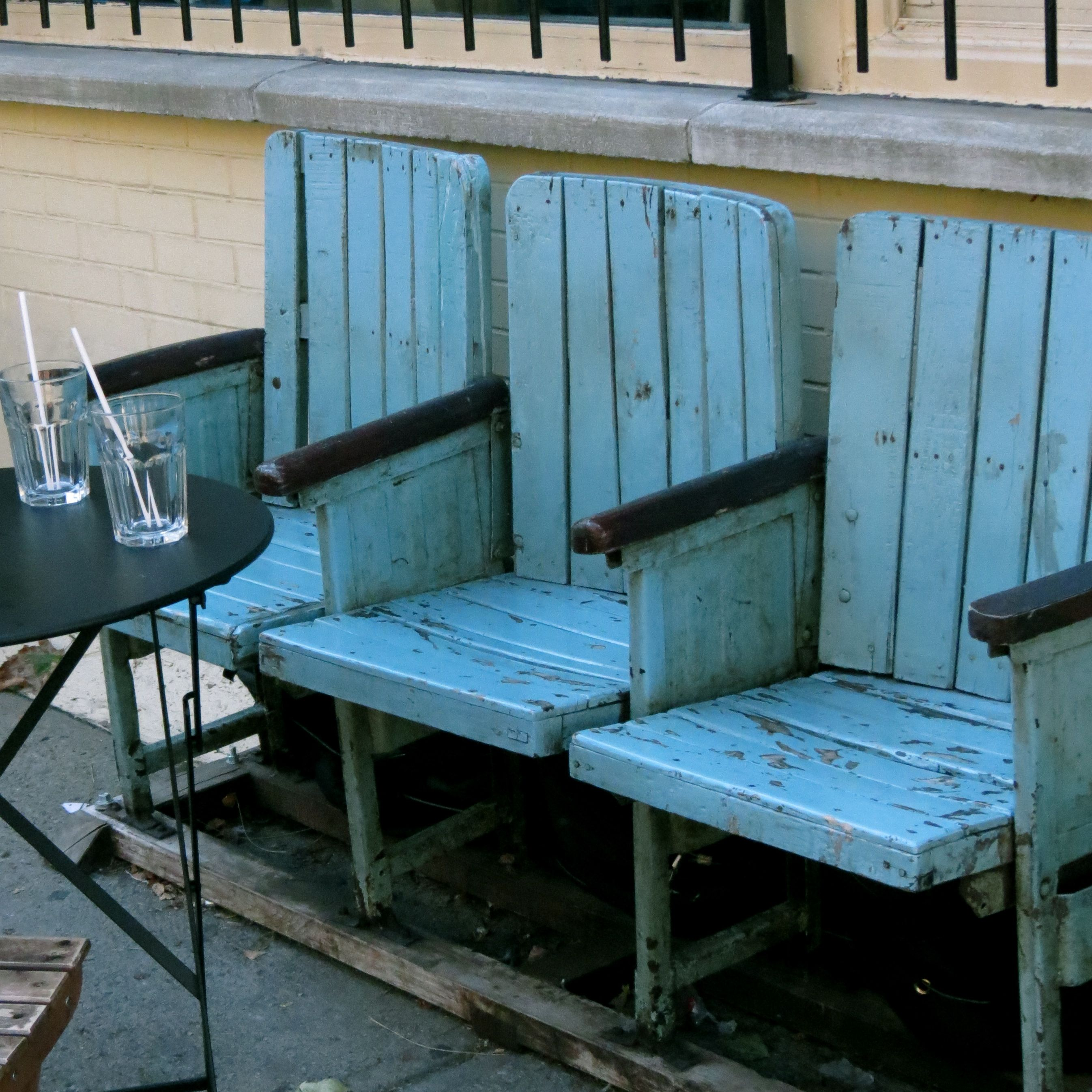 Darling Seating Outside Cafe