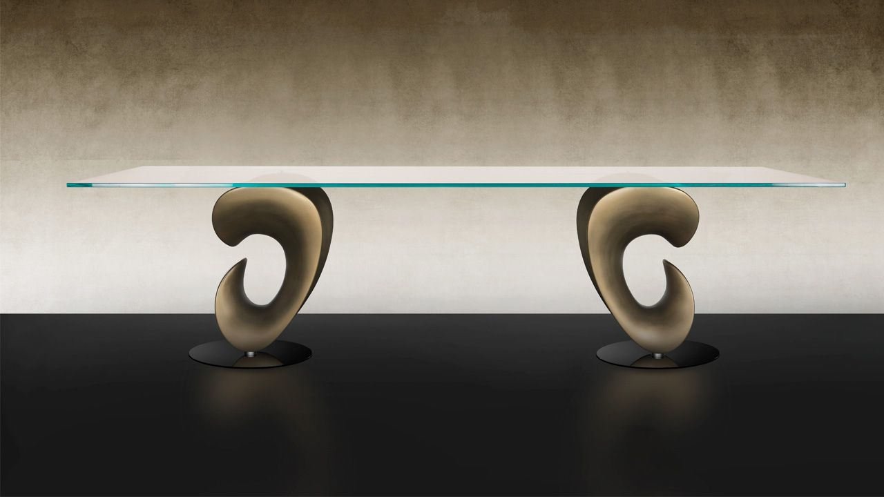 Tavoli In Cristallo Allungabili Reflex.Parentesis 72