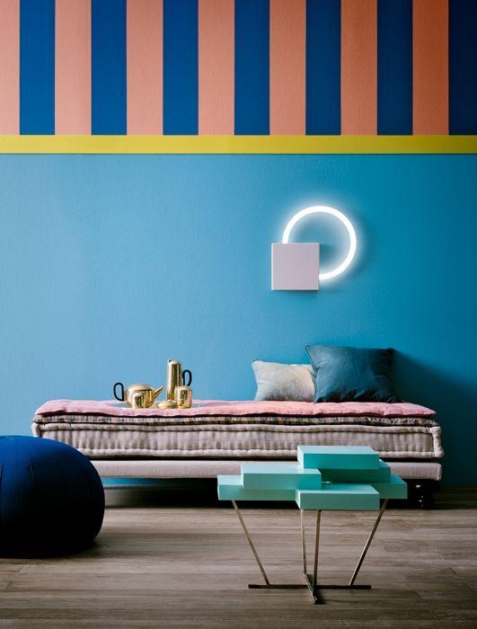 Nel blu dipinto di blu arredamento arredi colorati e for Interni colorati casa