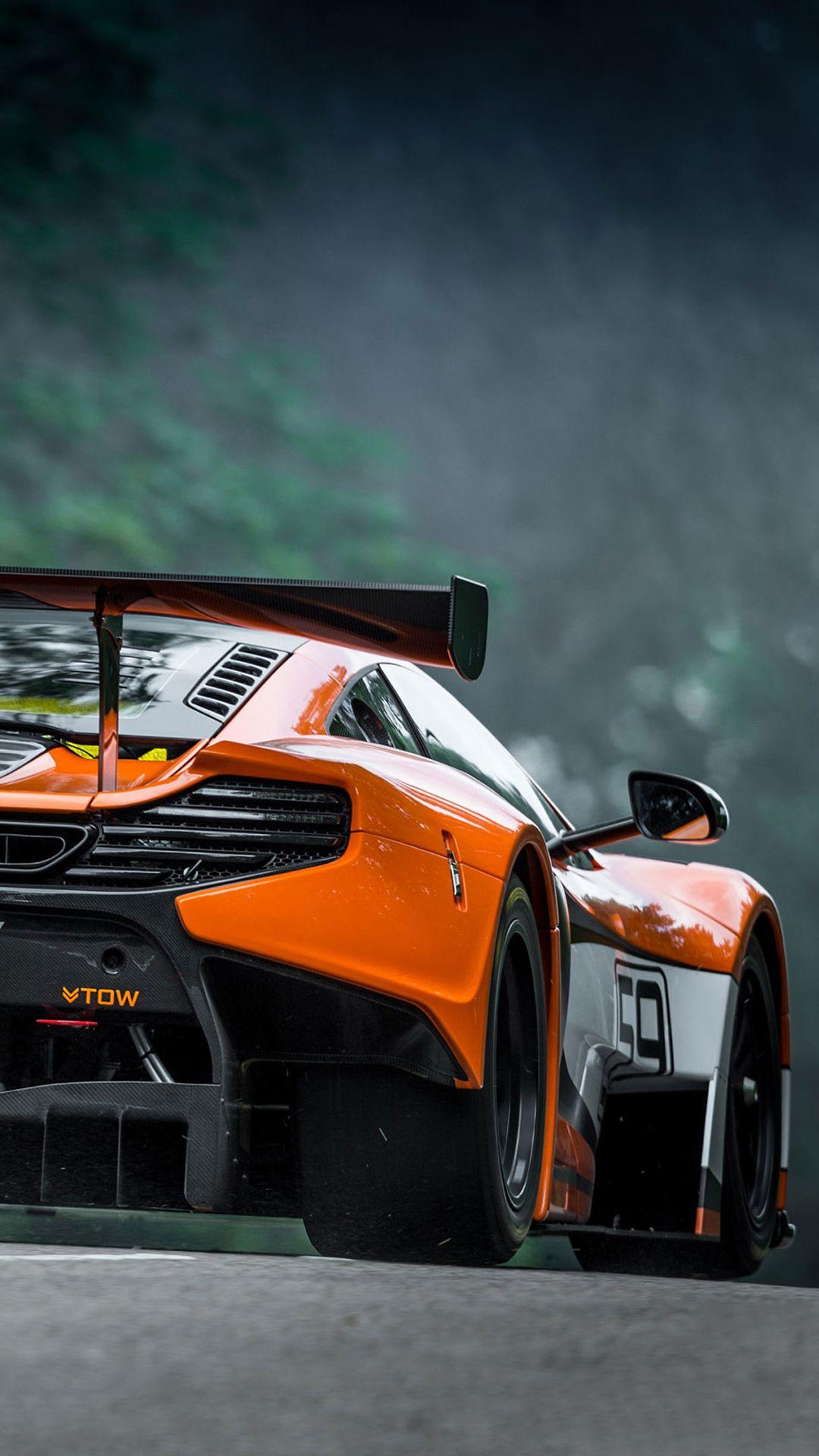 TAP AND GET THE FREE APP! Men's World McLaren Orange Car