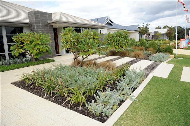 65 Simple Clean Modern Front Yard Landscaping Ideas Homevialand Com Front Garden Design Modern Front Yard Roof Garden Design Modern backyard ideas australia