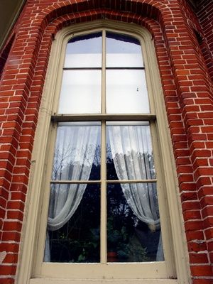 and old window frames..