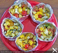 Gemüsepäckchen für den Grill #mexicanshrimprecipes