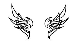 Deviantart More Like Tribal Wing Tattoo By Werepuppy With