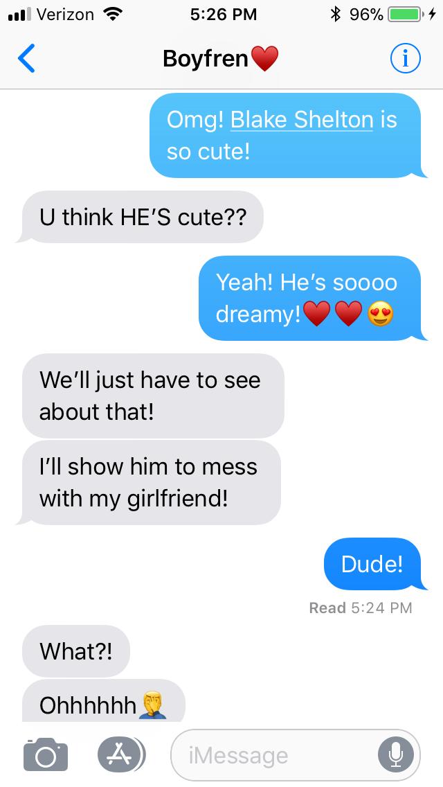 Boyfriend♥️ | Boyfriend humor, Funny texts, Funny phone texts