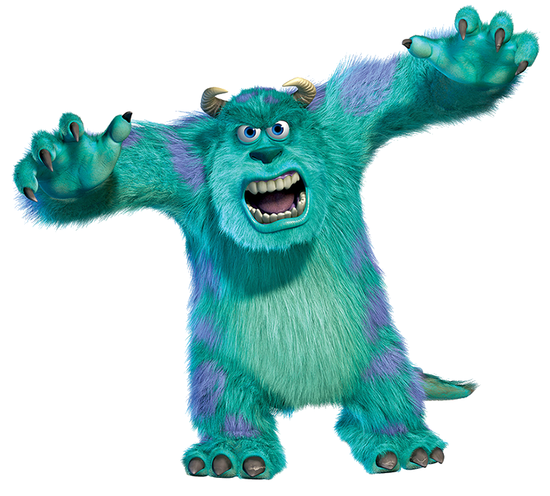 In The Beginning Of The Movie Salvatore Believe That He Was The Best Scarer In The School Since He From Monsters Inc Characters Monsters Inc Sully Monsters Inc
