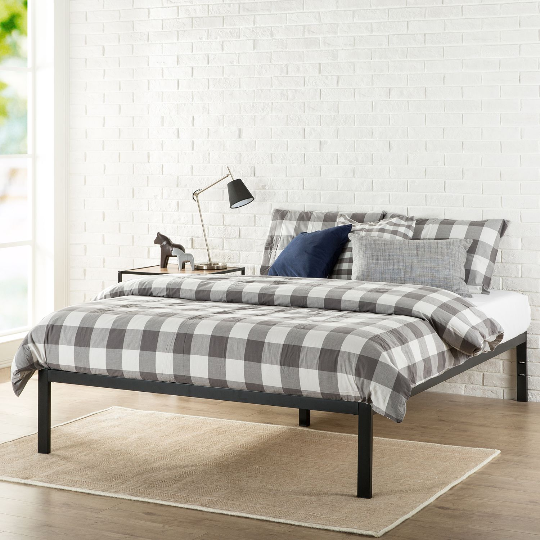 Buy A Platform 1500 Metal Bed Frame& Foundation Shop Zinus