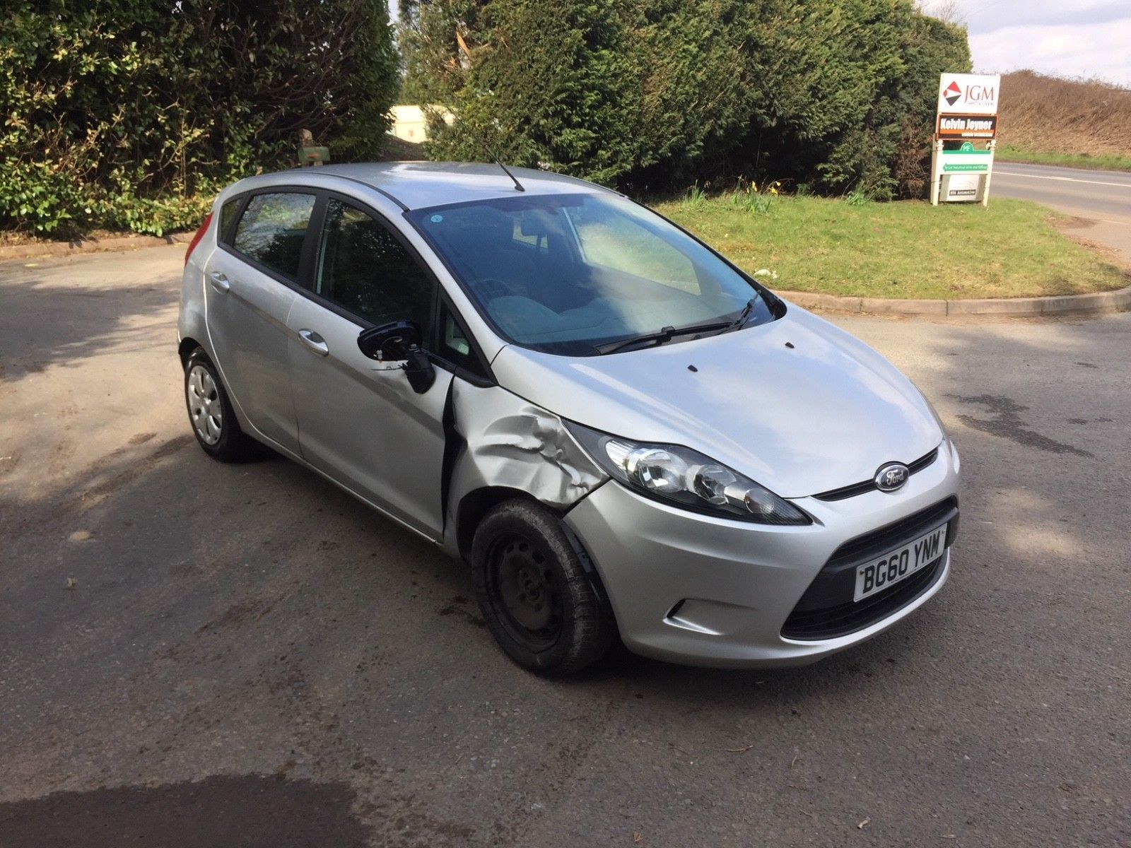 Ebay 2011 Ford Fiesta Eco Diesel Damaged Repairable Salvage