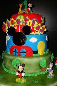 Pastel casa de Mickey