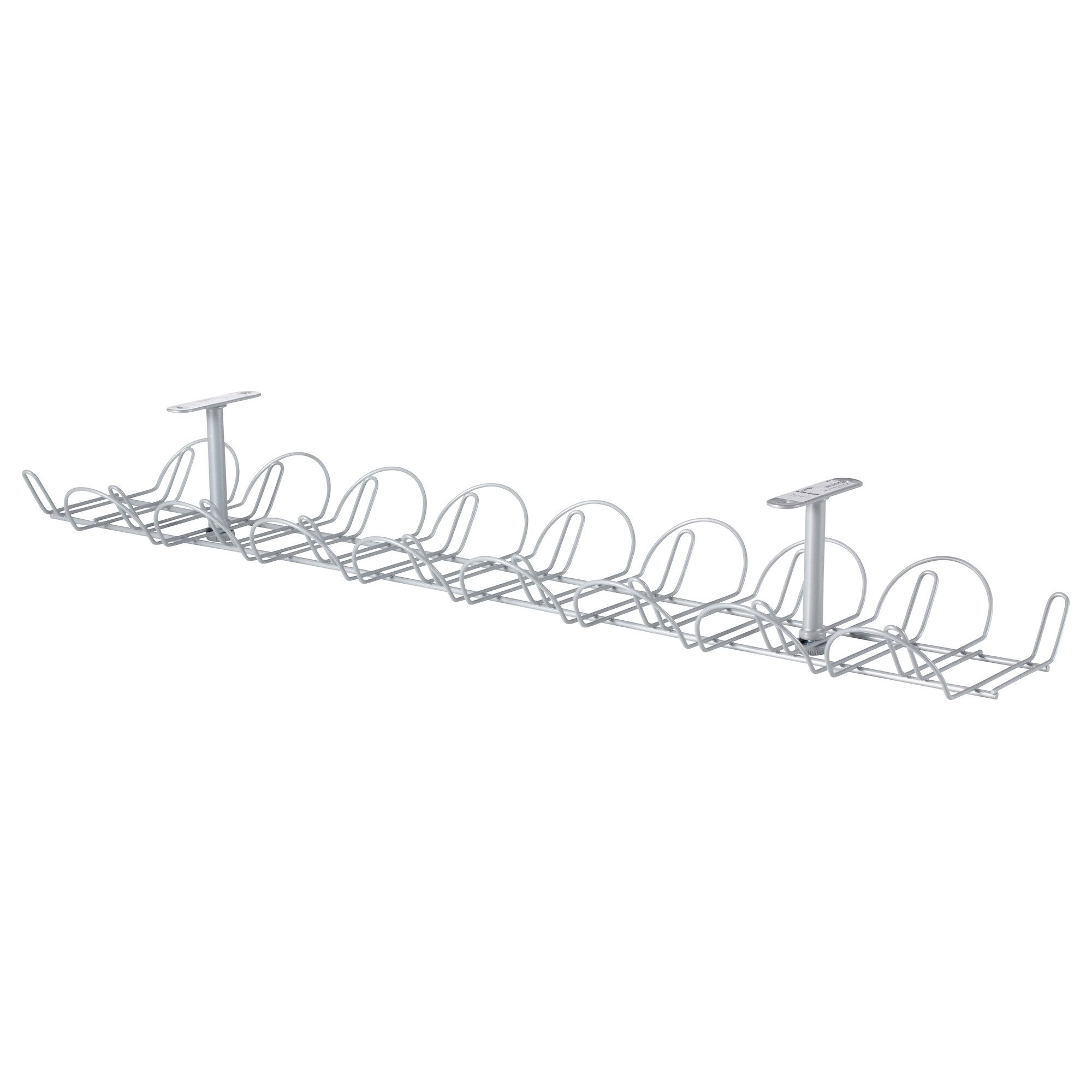 Schreibtisch Kabelmanagement Signum Cable Management Horizontal Silver Color Lobby