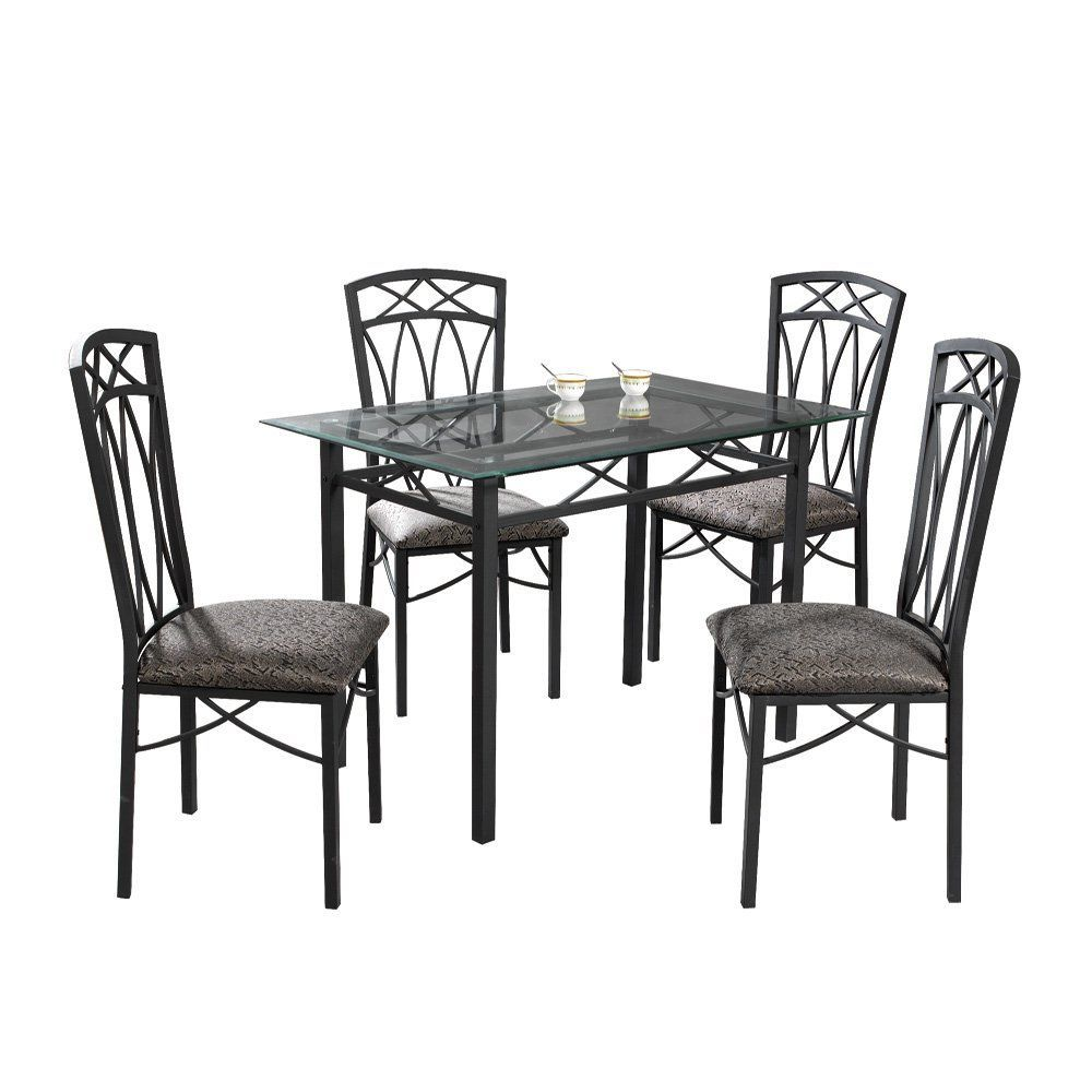 Have to have it. Home Source Erlanger 5 Piece Small Dinette Set - $214 @hayneedle