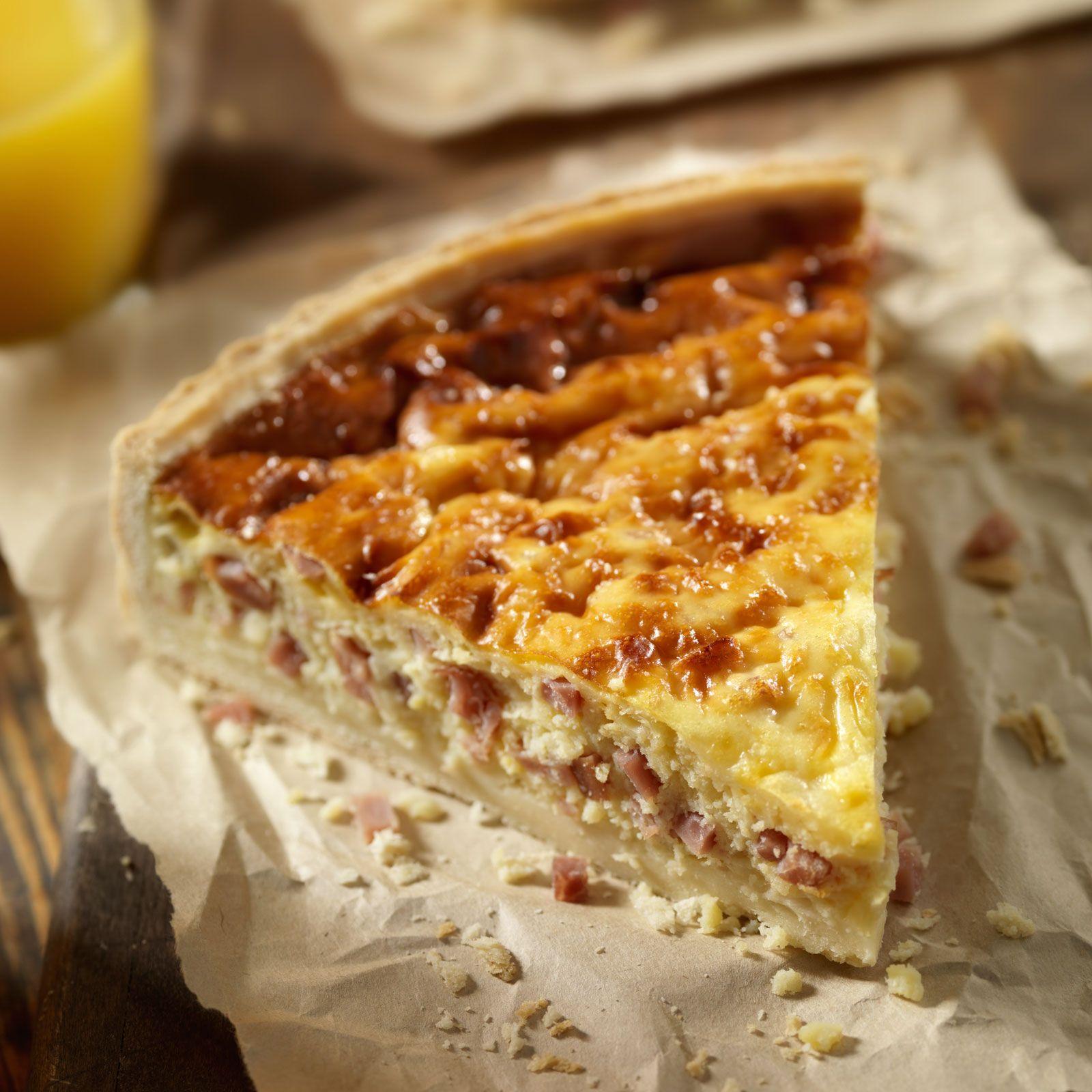 Découvrez la recette Quiche lorraine sur cuisineactuelle.fr.   Quiche ...
