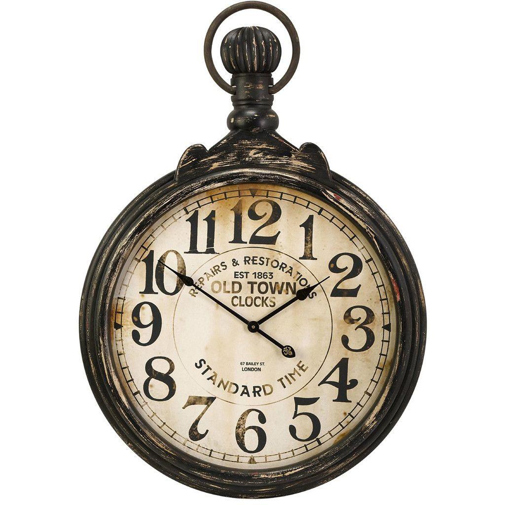 carlisle pocket wall clock old clocks clock pocket watch on wall clocks id=42525