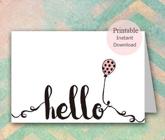 Printable greeting cards hello card greeting card by pynkcrush printable greeting cards hello card greeting card by pynkcrush m4hsunfo