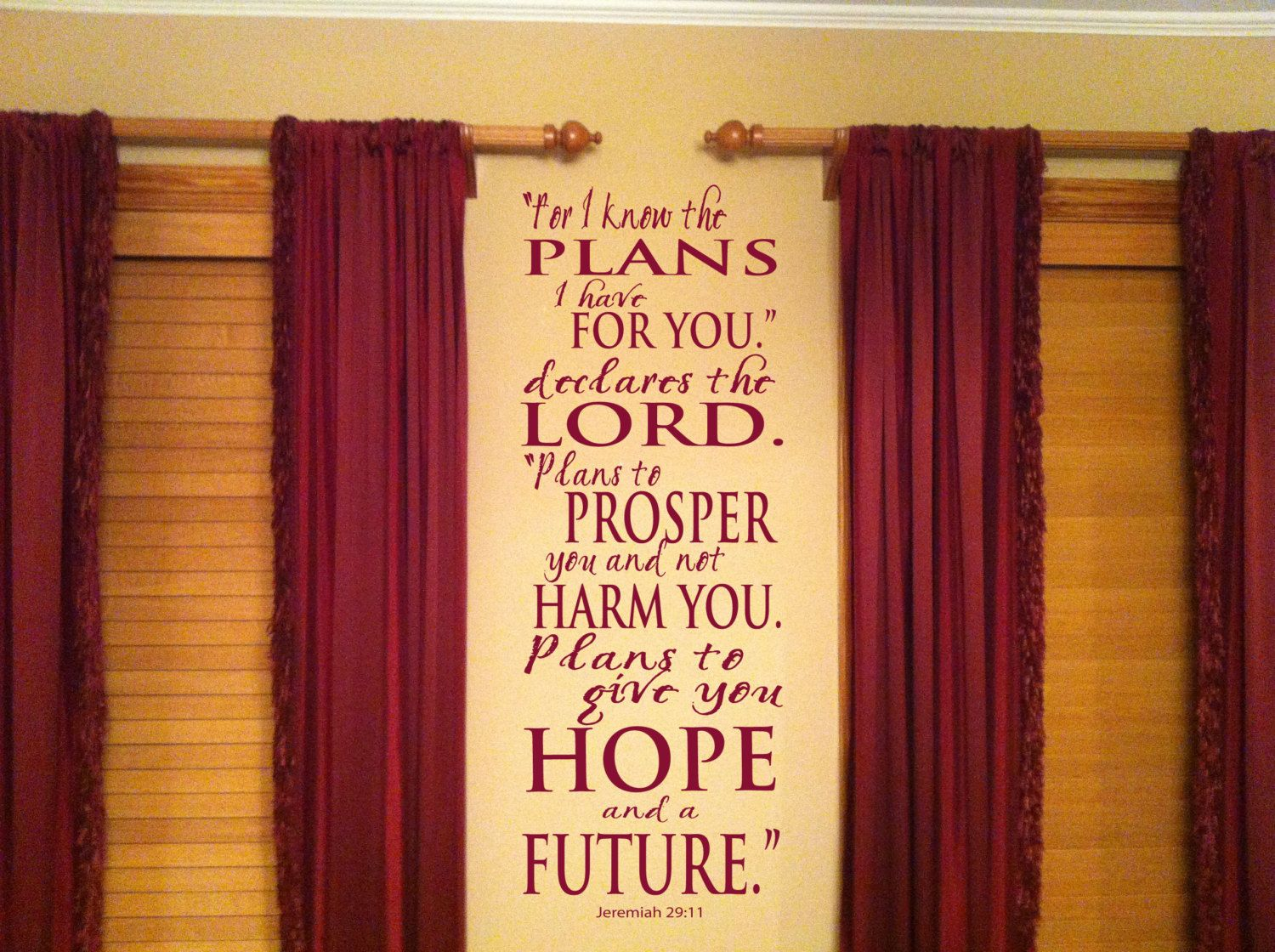 For I Know The Plans I Have For You Declares The Lord Jeremiah 29:11 ...