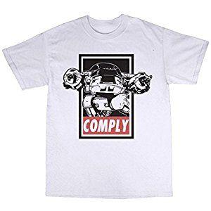 d68fce848 Robocop ED-209 Comply T-shirt | Rob cop | Mens tops, Tops, Shirts
