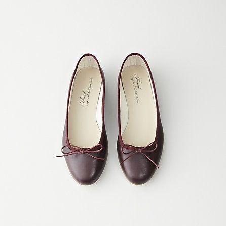 Flat shoes women, Leather ballet flats