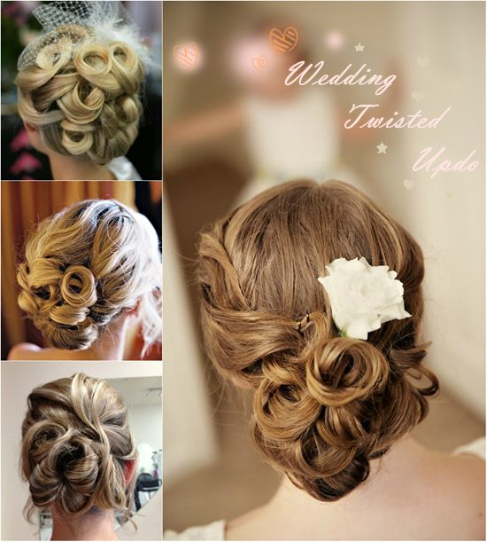 Simple Hairstyles For Weddings To Do Yourself: 5 Easiest Wedding Updo You Can Create By Yourself -