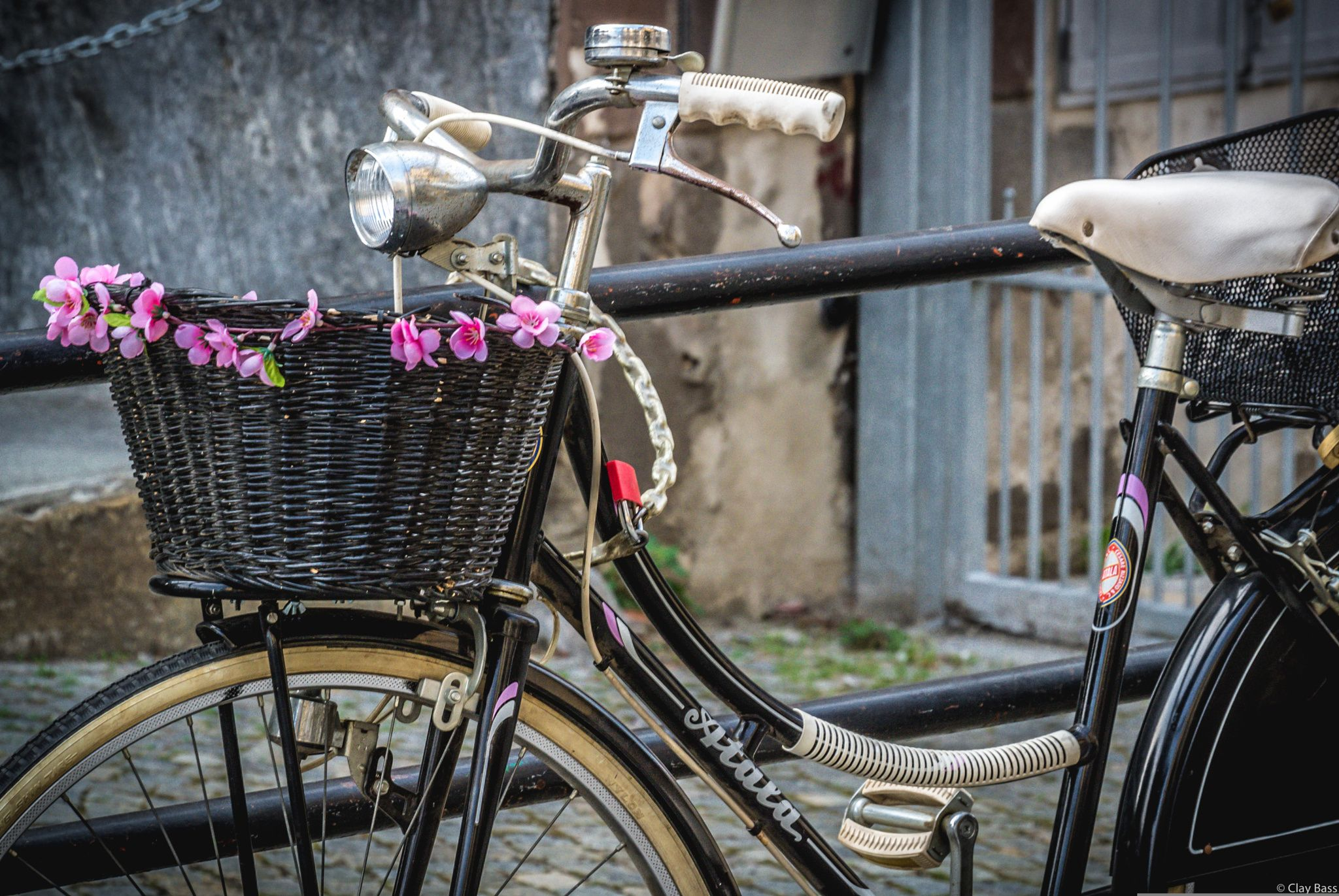 """bici da donna - non basta la mancanza della barra centrale a definire una """"bici da donna"""", ci vuole proprio quel tocco femminile..."""