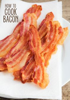 The Best Way to Cook Bacon - Perfect Every time!