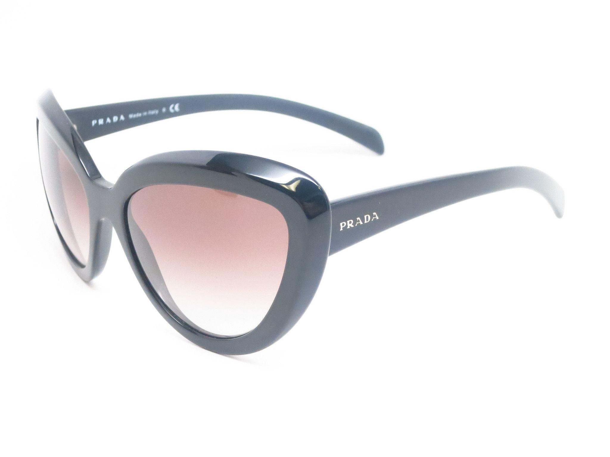 b019750ad3 Prada SPR 08R 1AB-0A7 Black Sunglasses | Prada Linea Rosa Sunglasses ...
