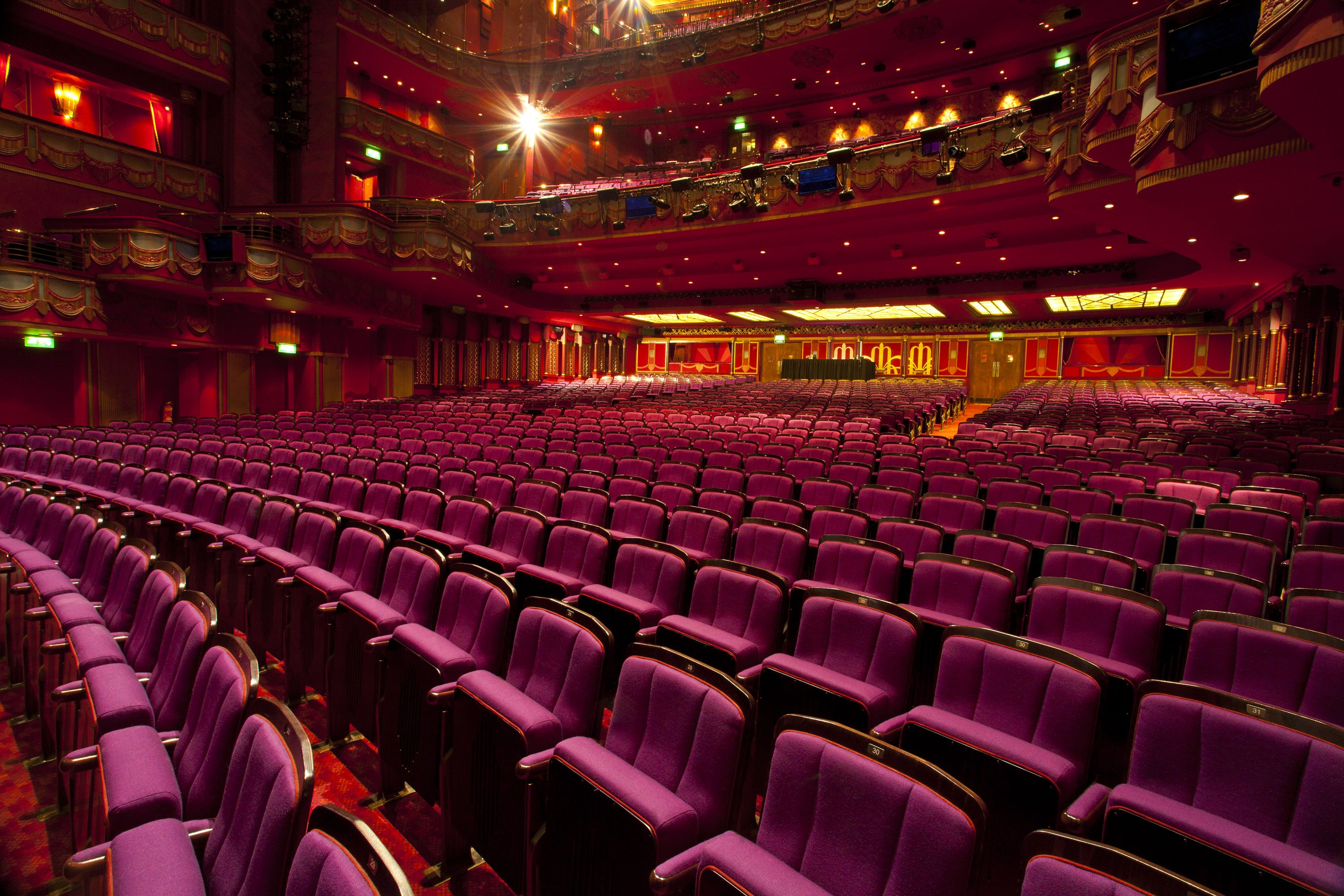 Our Chairs In The Prince Edward Theatre London