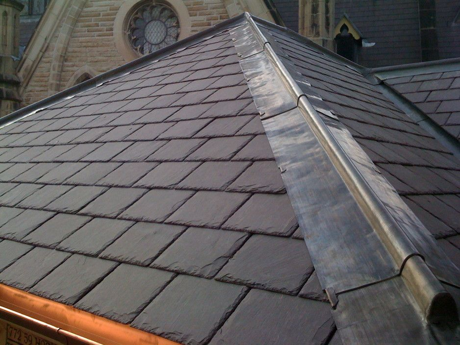 Lead roof ridge lines google search roof lead gutters for Does new roof affect appraisal
