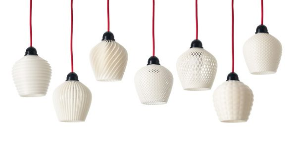 Dentelle 3d Printed Lampshades By Samuel Bernier By Samuel N Bernier Antique Lamp Shades Rustic Lamp Shades Wall Lamp Shades