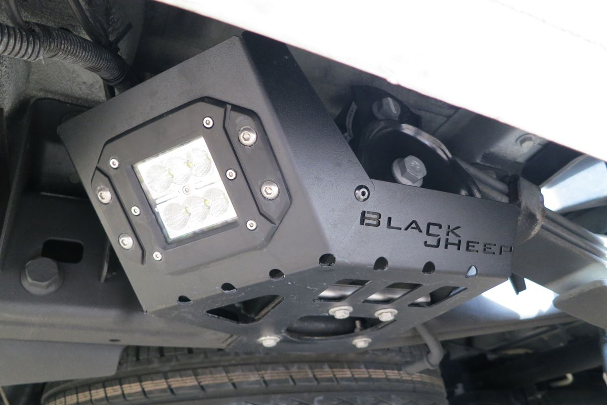 Tailgate Modification Set X2f Cover Checker Plate Blacksheep