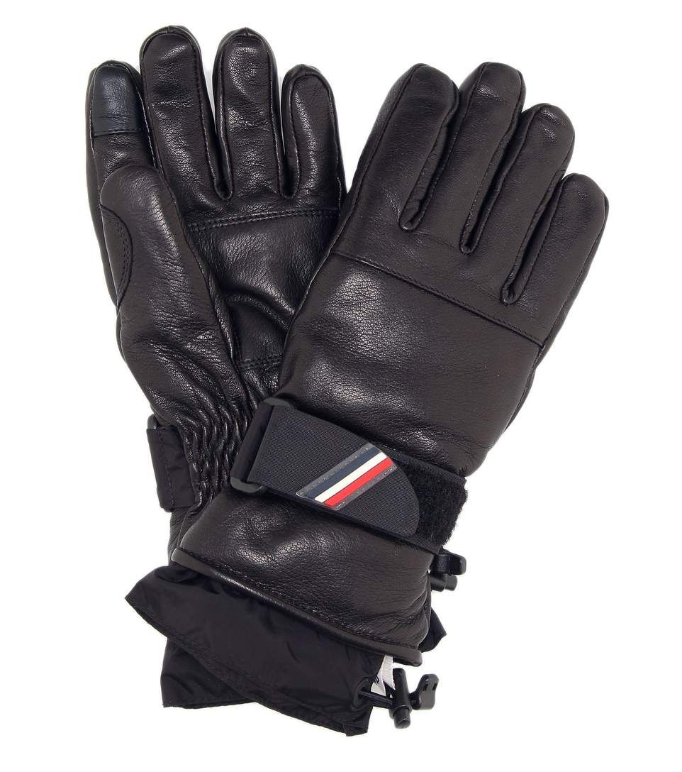 c6015f527 MONCLER GRENOBLE Leather Ski Gloves.  monclergrenoble  current week ...