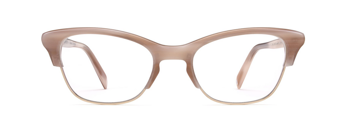 32150e1e04 Holcomb cat eye glasses in Pale Rose Horn