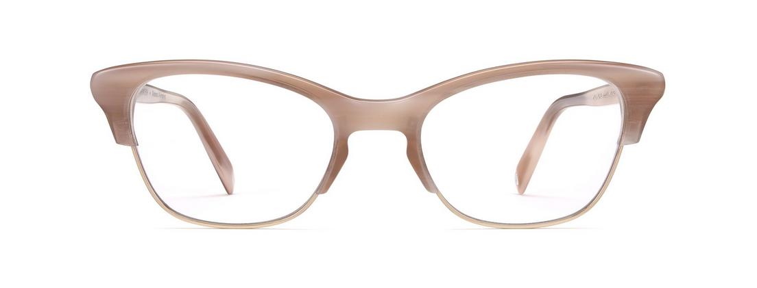 cd914bf5ae Holcomb cat eye glasses in Pale Rose Horn