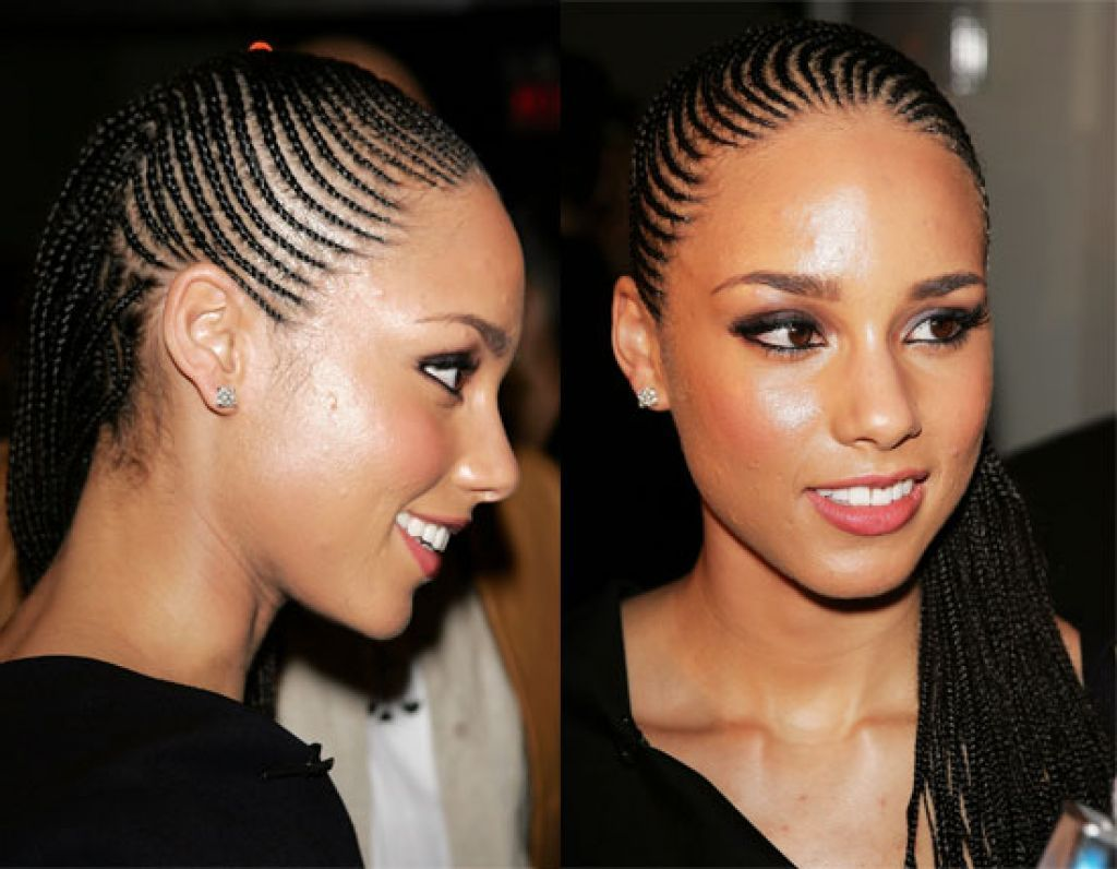Alicia Keys Cornrow Braid Hairstyles Alicia Keys Cornrow Hairstyles Hairstyle Black African Wom Cornrow Hairstyles Cornrows Natural Hair Braided Hairstyles