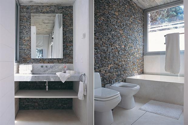 Ambientacion ba os buscar con google banos bathroom for Bano de pared de concreto encerado
