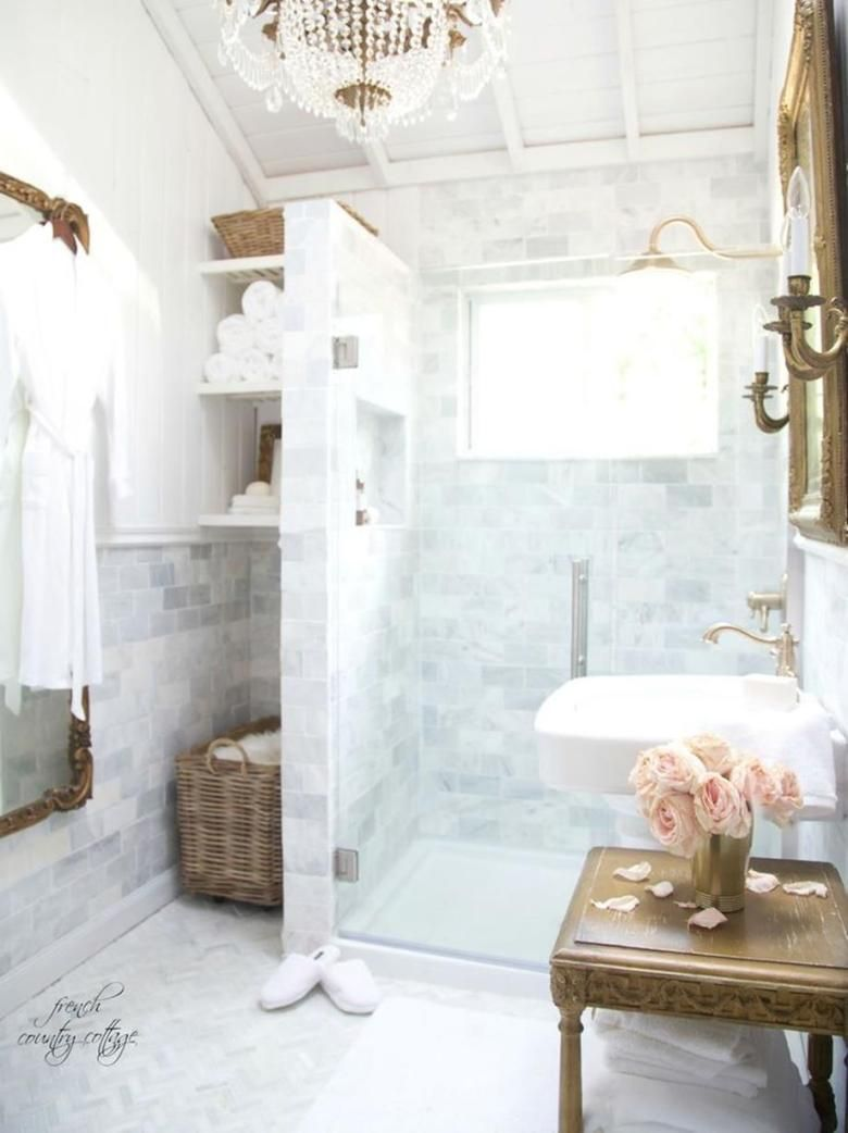 38 Stunning Modern Country Style Bathrooms   Country style bathrooms ...