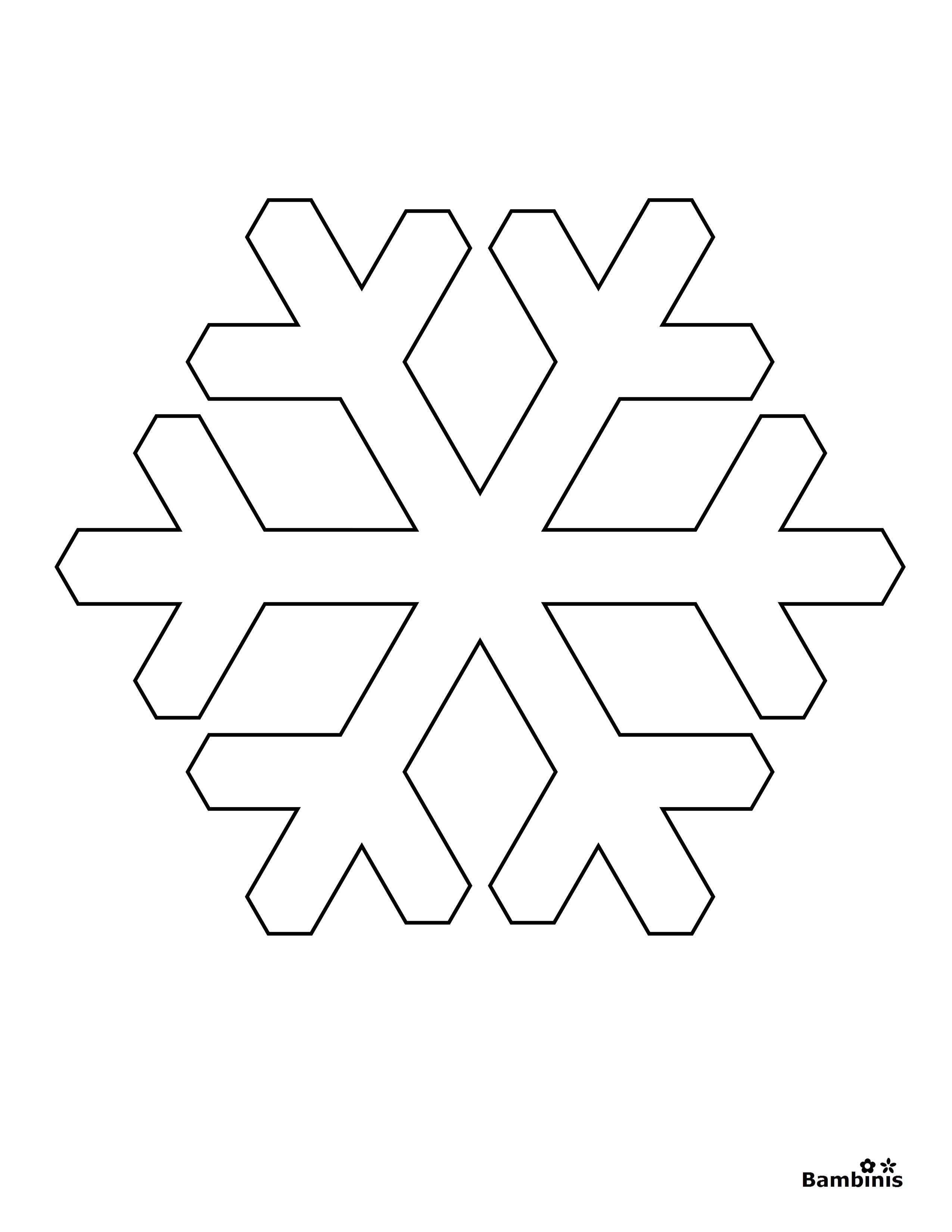 Reward Pictures Of Snowflakes To Print