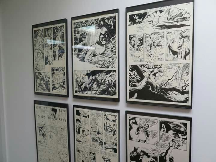 Neal Adams' Studio