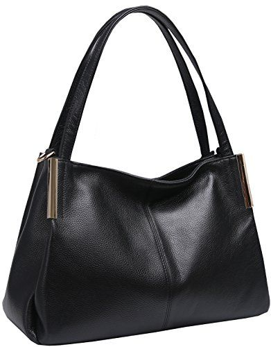 ded7e2dd4802 Heshe Women s Leather Designer Handbags Tote Bags Shoulder Bag with  CrossBody Strap Satchel for Office Ladies