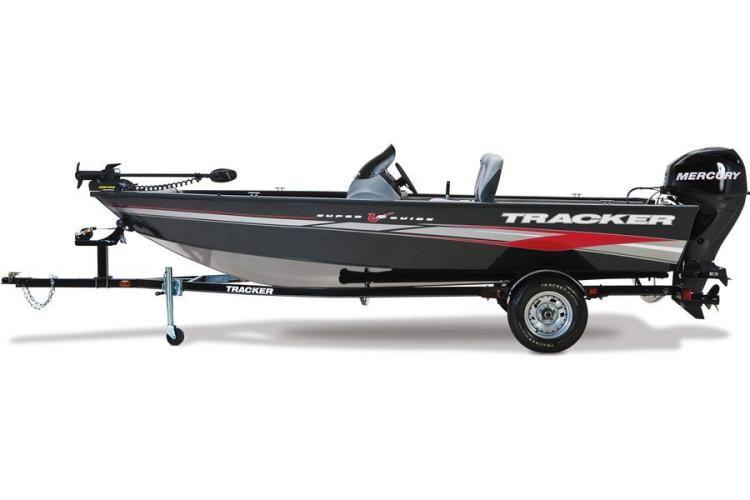 New 2012 tracker boats super guide v 16 sc multi species for Tracker fishing boats