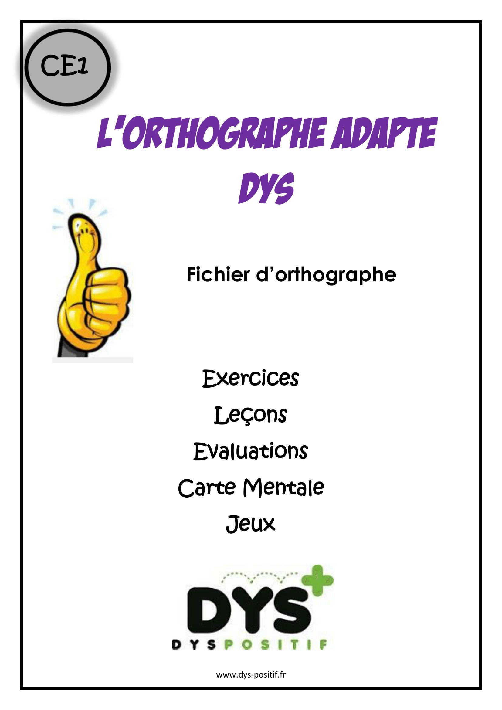 Orthographe CE1   ortho   Pinterest   Orthographe ce1, Orthographe ce2 et CE1